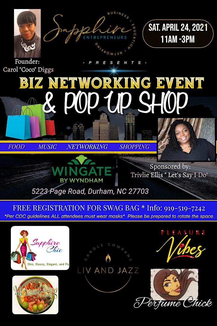 Sapphire Biz Networking & Pop Up Shop image