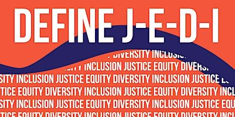 Justice Equity Diversity Inclusion Webinar boletos