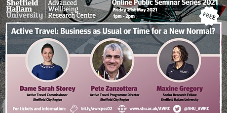 Active Travel: Business as Usual or Time for a New Normal? tickets