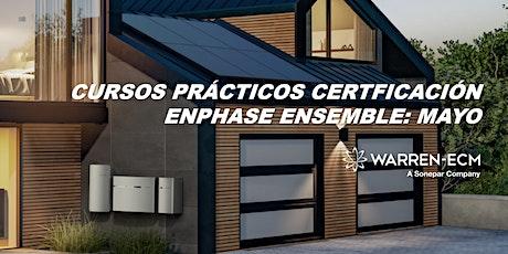 Adiestramientos Enphase Ensemble MAYO 2021 tickets