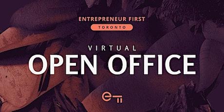 Entrepreneur First Toronto Virtual Open Office tickets