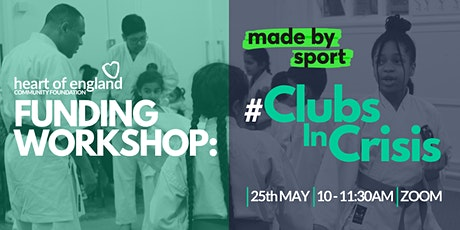 Made By Sport: #ClubsInCrisis Funding Workshop tickets