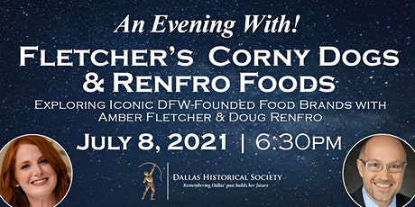 An Evening With! Lecture Series: History of Food Brands Founded in DFW! tickets