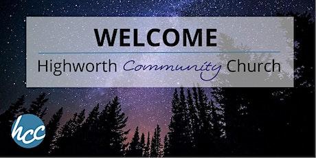 Highworth Community Church service tickets