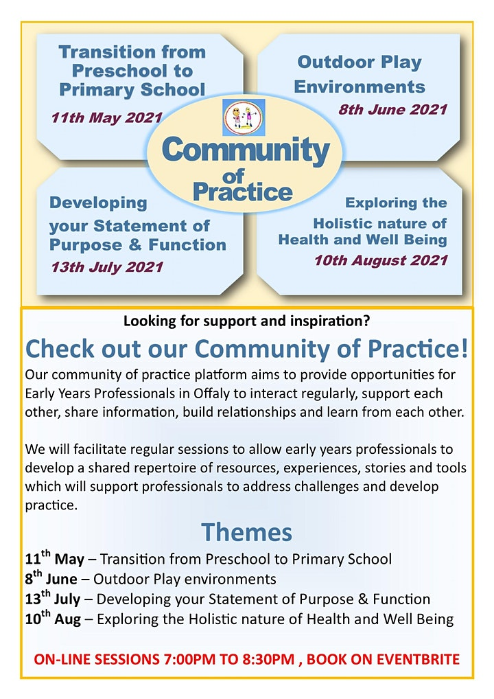 Community of Practice Exploring the Holistic nature of Health & Well Being image