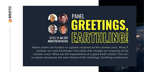 Greetings, Earthling! Panel Discussion on Global Citizenship & Climate Tickets