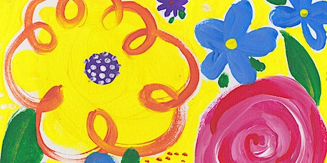 Kids Painting Class - May Flowers morning session tickets
