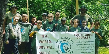 #3 2021 Adventure Survival Summer Camp for ages 10-12 tickets