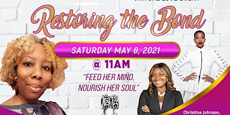 Restoring the Bond Mother/Daughter Virtual Love Event tickets