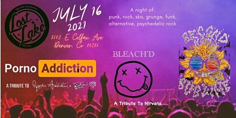 Bleach'd / Porno Addiction / Second Hand Sublime (Tribute Bands) -- Early tickets