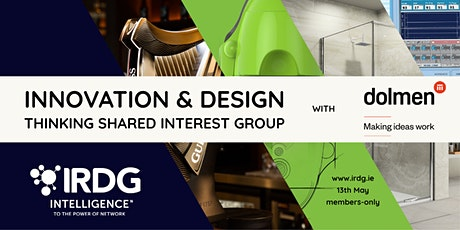 Innovation and Design Thinking Shared Interest Group with Dolmen tickets