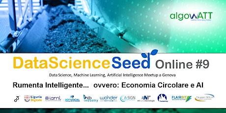 DataScienceSeed Online #9 biglietti