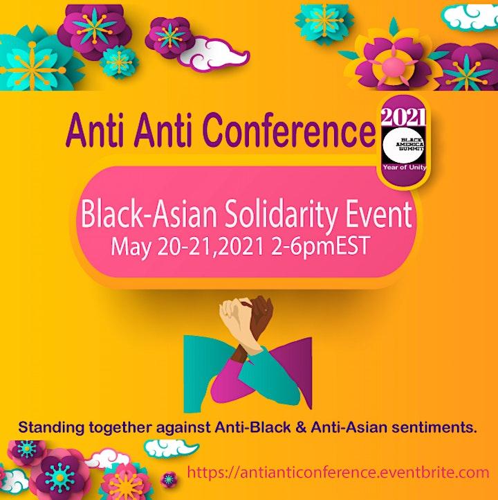 Anti Anti (Black-Asian) Solidarity Conference image