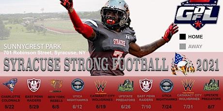 Syracuse Strong Football 2021 Season Passes. tickets