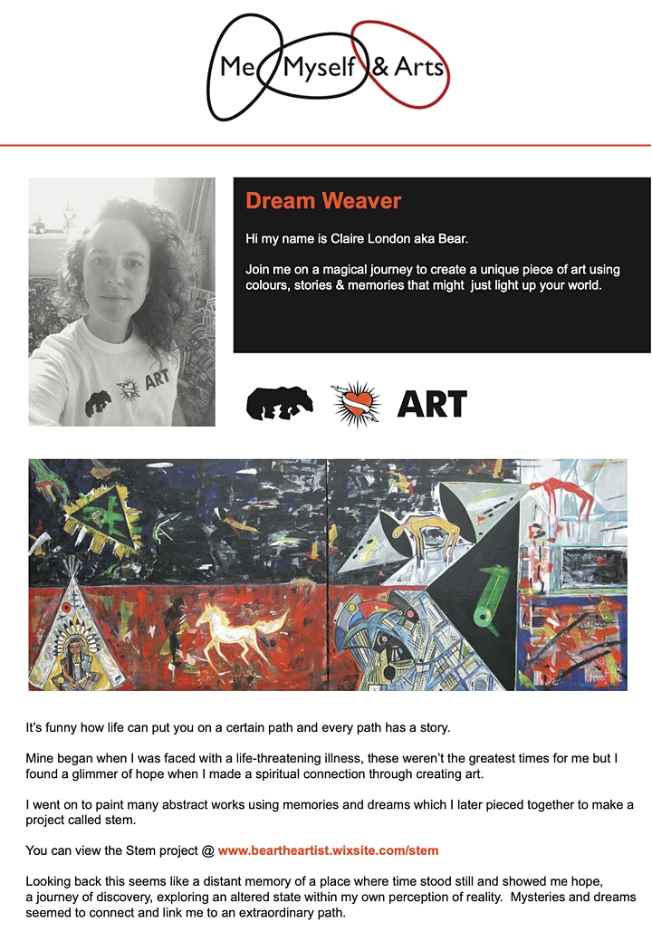 Creative Dream Weaver - Me, Myself & Arts - Luton image