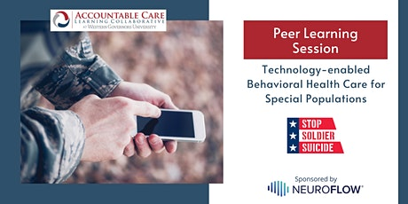 ACLC Peer Learning: Technology-enabled Behavioral Health Care tickets