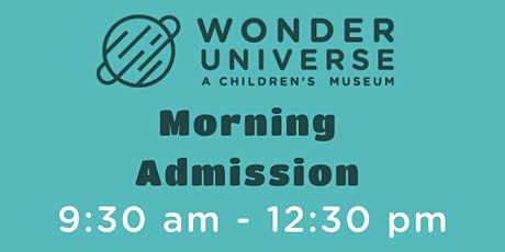 Museum Admission 9:30a - 12:30p tickets