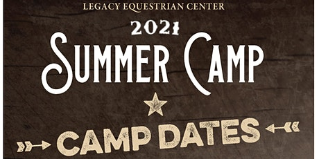 Legacy Summer Camp Pony Week | Ages 5 to 8. tickets