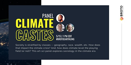 Climate Castes Panel Discussion on Global Citizenship, Climate, Sociology tickets