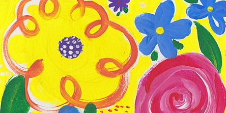 Kids Painting Class - May Flowers afternoon session tickets
