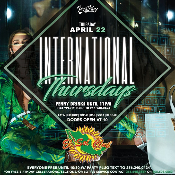 International Thursdays at ELSOL image