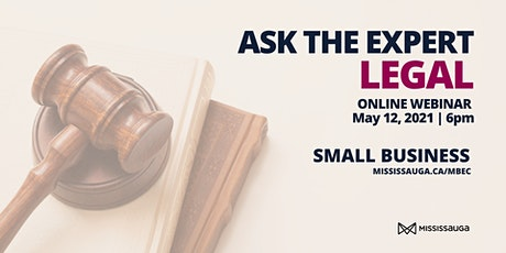 Ask the Expert: Legal Session tickets