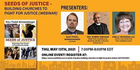 Seeds of Justice - Building Churches to Fight for Justice tickets