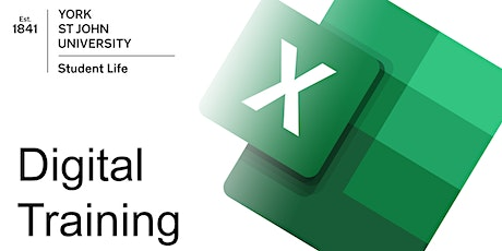 Excel key skills (ON CAMPUS  Tue 25th May 2021 11am) tickets
