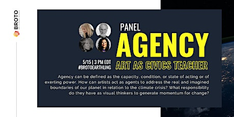 Agency: Art as Civics Teacher Panel on Global Citizenship, Art & Climate tickets