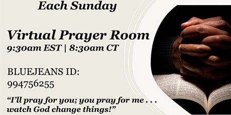 Virtual Prayer Room tickets