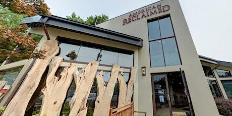 Craftsman Corner at American Reclaimed tickets