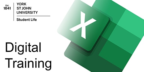 Excel key skills (ON CAMPUS  Tue 18th May 2021 11am) tickets