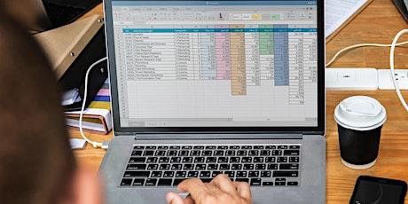 Computer Training Workshop - Beginner Excel tickets
