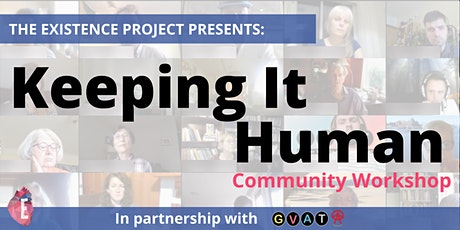 Keeping It Human Workshop for Congregation Emanu-El bilhetes