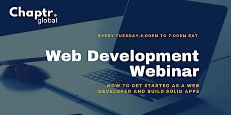 Web Development Webinar | Getting Started as Web Developer tickets