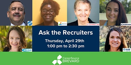 """Ask the Recruiters"" - Q&A Panel Discussion tickets"