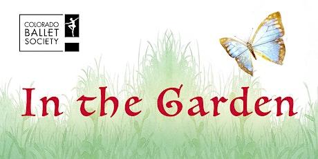 In the Garden tickets