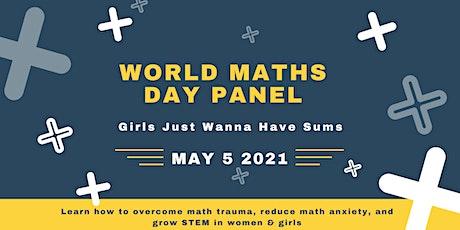 World Maths Day Panel: Girls Just Wanna Have Sums tickets