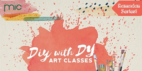 DIY with DY - Phases of the Moon Watercolour Bookmarks tickets