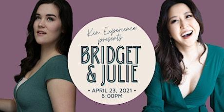 En Concert: Bridget Esler & Julie Choi billets