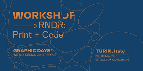 Workshop |RNDR x Graphic Days® Eyes On the Netherlands tickets