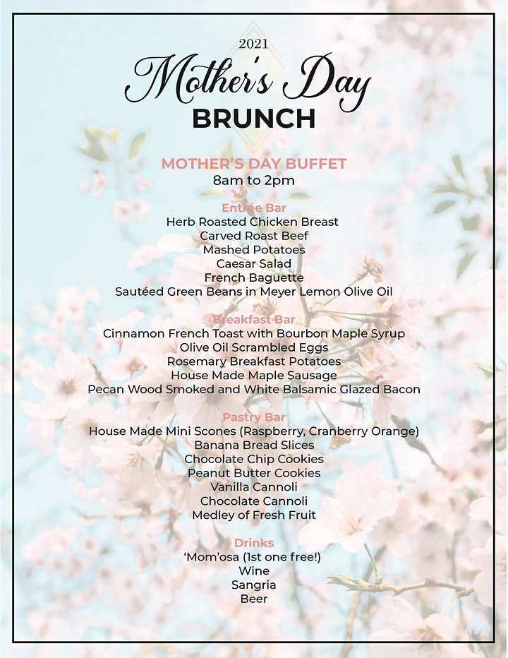 Queen Creek Olive Mill Mother's Day Brunch image
