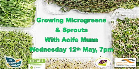 Growing Microgreens & Sprouts tickets