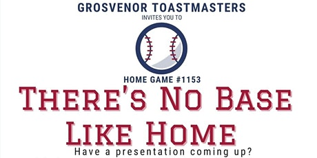 gTM Online Club Meeting #1153 - Theme: There's No Base Like Home tickets