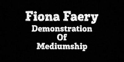 Demonstration of Mediumship – Instagram Live October 21st