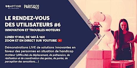 """Rendez-vous des utilisateurs """"Innovation et troubles moteurs"""" tickets"""