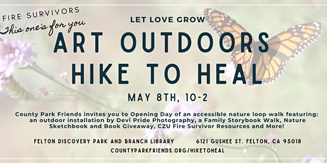 Art Outdoors Hike to Heal - Opening Day tickets