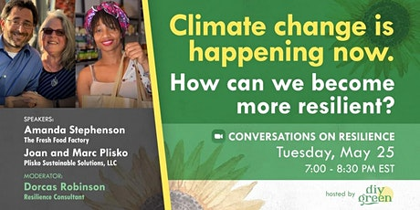 How can we become more resilient to climate change? tickets