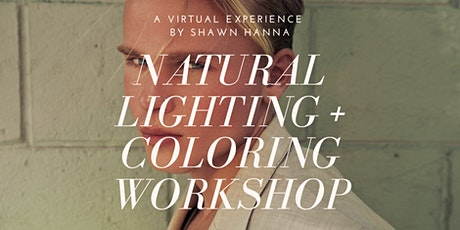 NATURAL LIGHTING + COLORING WORKSHOP (Virtual) tickets