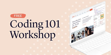 Coding 101 Workshop (Live Online) tickets